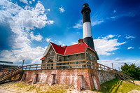 Fire Island Light (color)